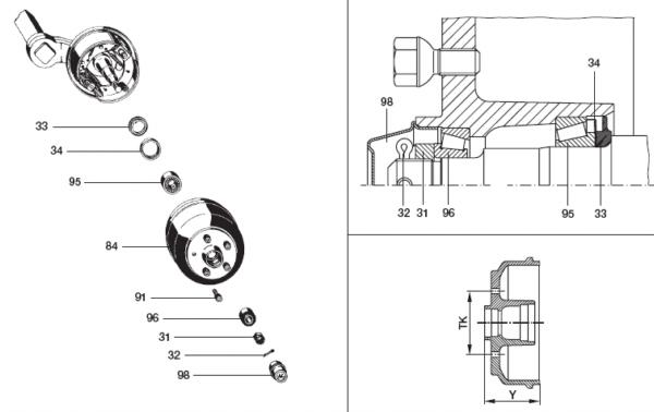 bpw bremse s2504 7rask. Black Bedroom Furniture Sets. Home Design Ideas